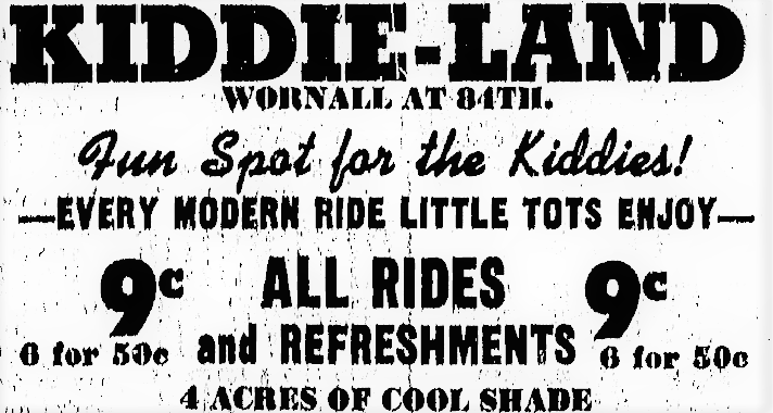 The nostalgia of Kiddie Land on Wornall Road