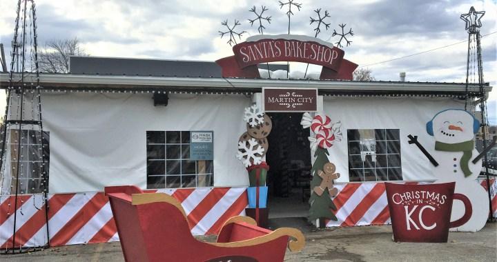 Santa's Bakeshop in Martin City opens