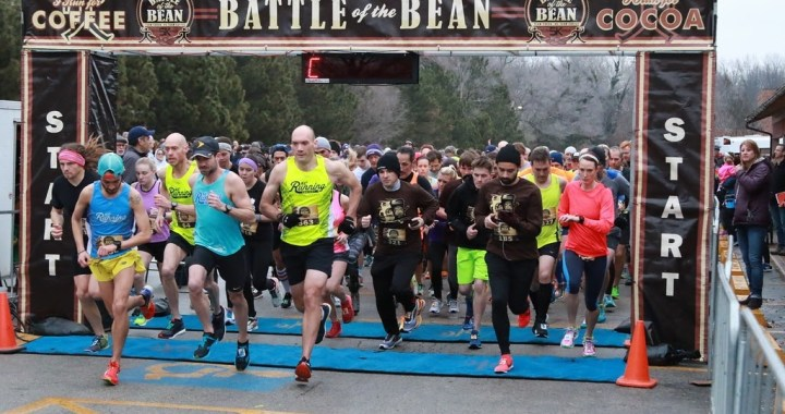 Coffee vs Chocolate? Saturday's Battle of the Bean 5k will determine the winner