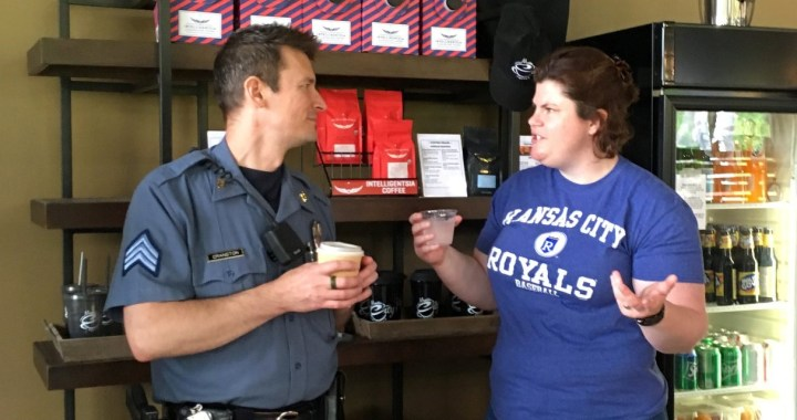 Coffee With a Cop at Martin City Coffee