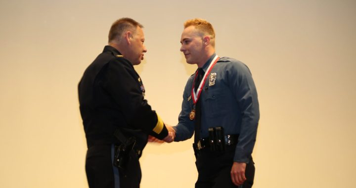 Police officers honored for acts of heroism