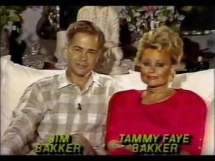 Jim Bakker and Tammy Faye Bakker in Youtube video.