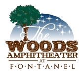 The Woods Amphitheater logo