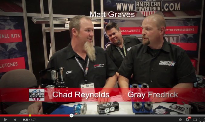 American Powertrain Matt Video Bomb