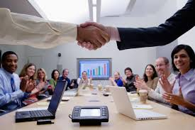 agreement in conference room