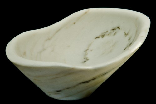 Pearl, The Maiden Collection / Yule Marble / SN120203 / 12 x 12 x 6.75 inch / 11.4 lbs / $2,500 / photo: Steve Mundinger