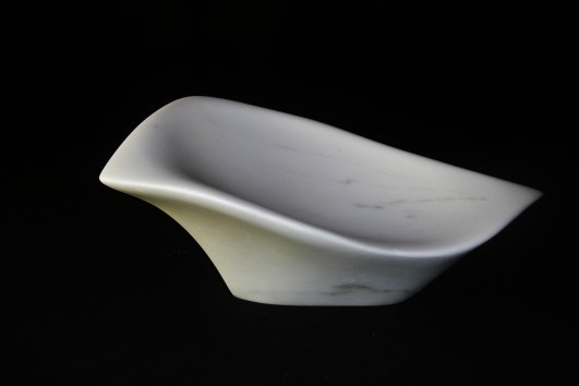 """$1,050 Sparrow 17.5x10.5x8"""", The Maiden Collection, Colorado Yule Marble Sculpture by Martin Cooney"""