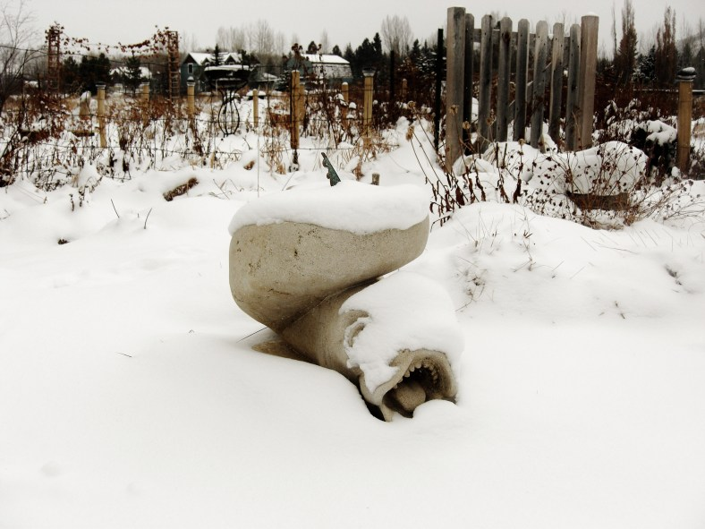 Sea Monster / Sculpture Garden