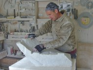 Author martincooney.com, Mother of Pearl - The Carving of...