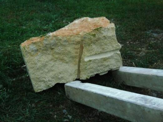 The Ice Palace Snowgoyles, Kansas Creme Limestone Sculpture by Martin Cooney