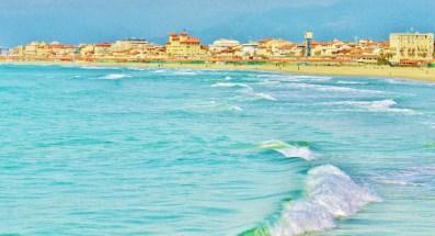 Viareggio Postcard by MARTIN COONEY