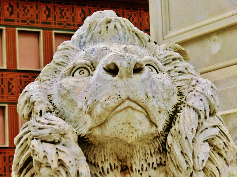The Lions of Massa, Italy