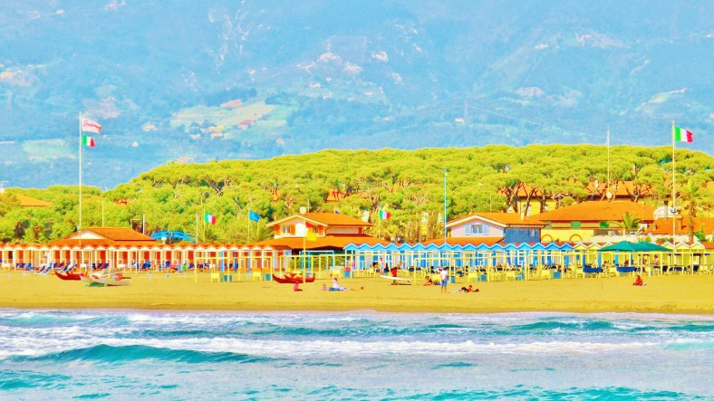 The Pier at Forte dei Marmi by MARTIN COONEY