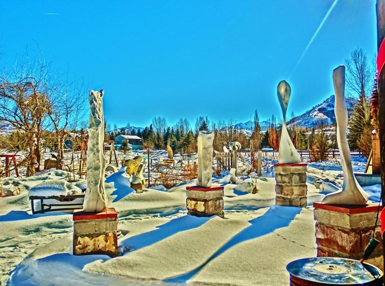 Standing Stone Circle, Woody Creek CO.