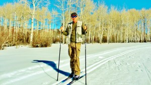 Author, Owl Creek Road Trail, Aspen/Snowmass Village Expressway. MARTIN COONEY