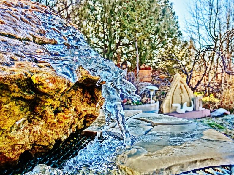 Bird Mountain Fountain,