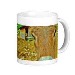 Curious Mules, Classic Mug, Lunigiana Roadside Attraction, Right
