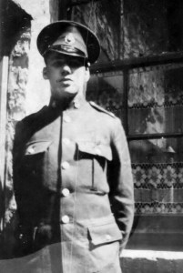 Royal Marine James Parker Cooney, outbreak of WWII