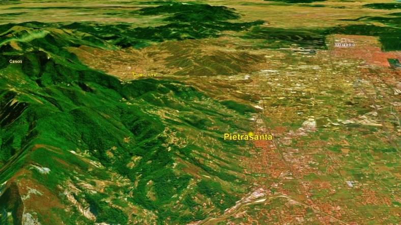 Pietrasanta Map 3 Google Earth