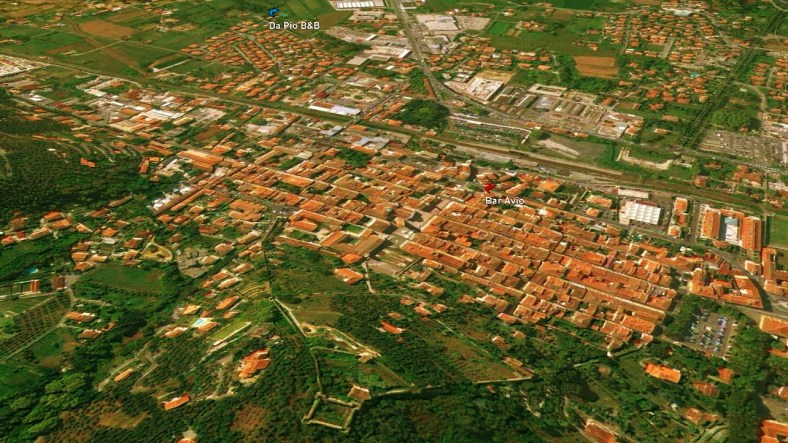 Pietrasanta Map 4 Google Earth