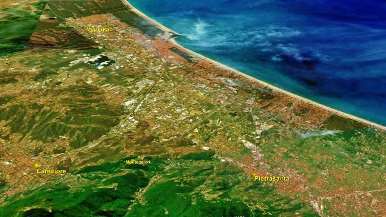 Viareggio Map 3 Google Earth