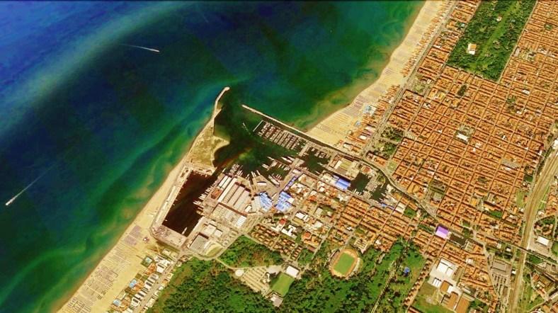 Viareggio Map 5 Google Earth
