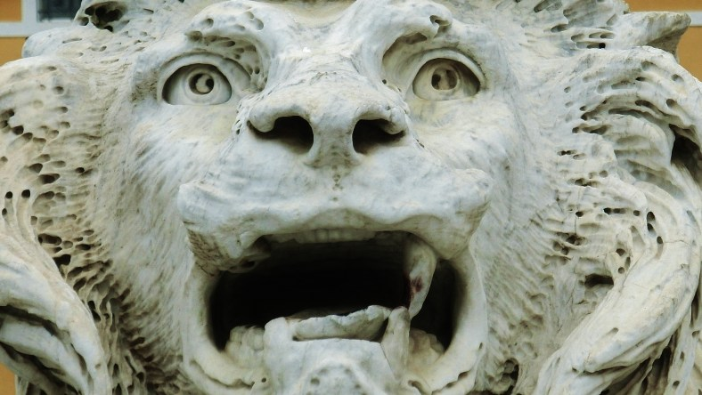 Massa Lions, The Tortured One, Tuscany, Italy