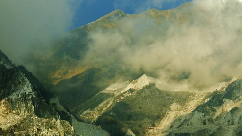 View from Colonnata, Lard Capitol of the World, Carrara, Italy