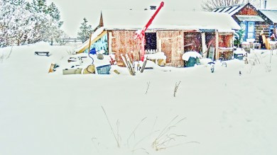 Studio Workshop, Snowscape. Feb 5, 16