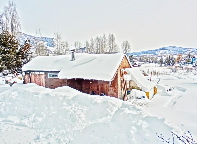 Deep Winter Snowscape, Feb 5, 16