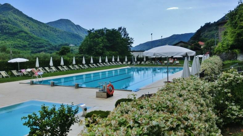 Public Swimming Pool, Borgo a Mozzano, Tuscany, Italy