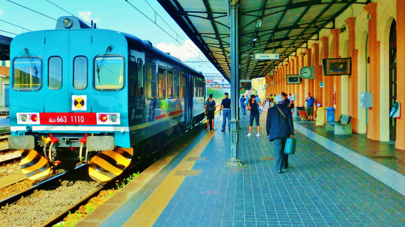 Lucca Railway Station, North West Tuscany