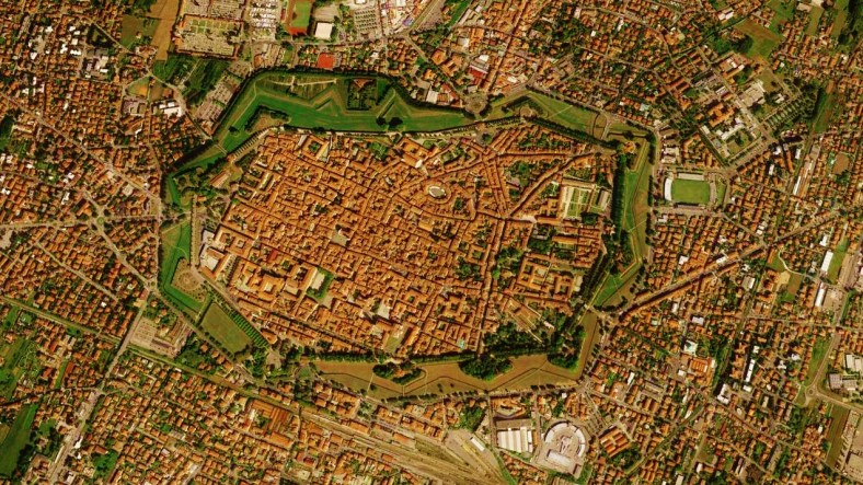 Lucca Map 3 Google Earth