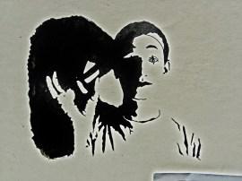 Martin Cooney, Portland, Oregon, Street Performer, Pen and Ink Self-Portrait