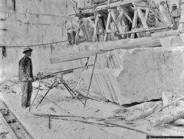 Yule Marble Quarry, pneumatic drill (2)
