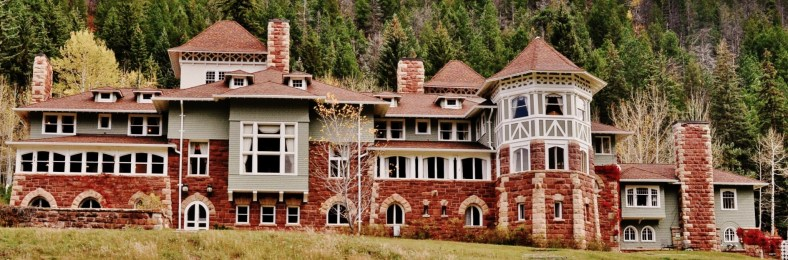 Cleveholm, Redstone/John Cleveland Osgood Castle, Along The Crystal River Valley, Colorado.