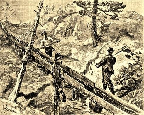 Miners, 'The Sluice' Henry_Sandham, Colorado