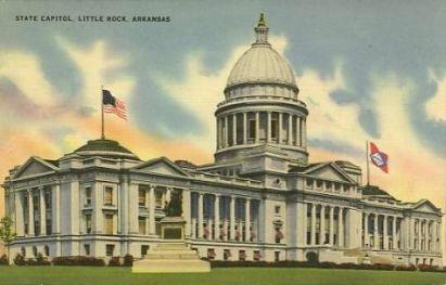 Arkansas, Little Rock, State Capitol, exterior