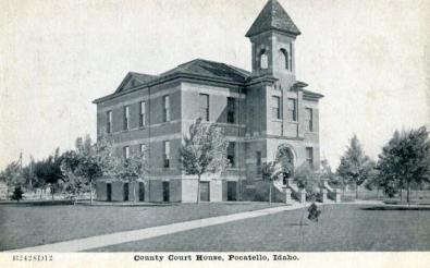 Courthouse, Pocatello, Idaho
