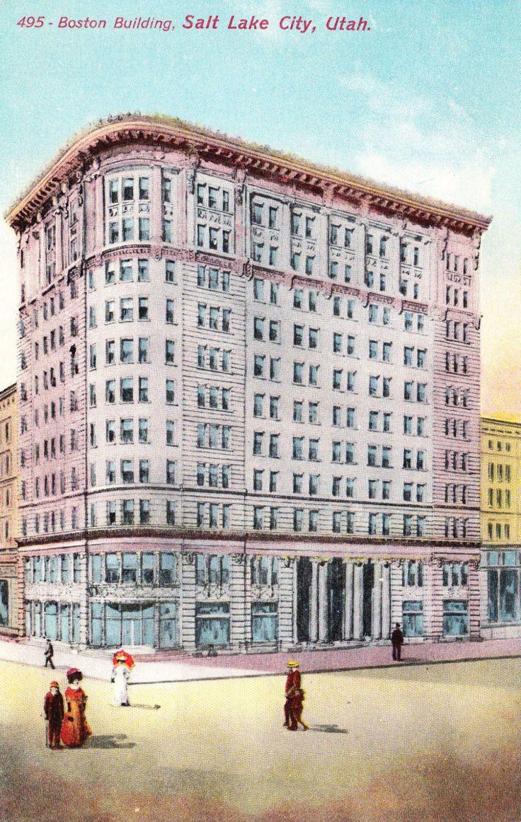 Boston Building, Salt Lake City, Utah