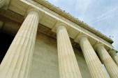 Lincoln Memorial, Yule Marble Columns (2)