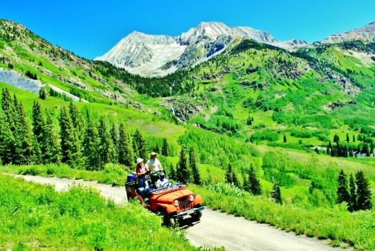Crystal River Jeep Tours, Marble Colorado, Along the Aspen Marble Detour