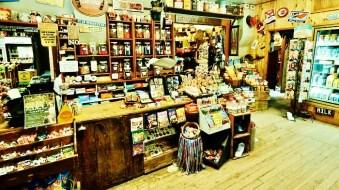 Redstone General Store interior 1, Redstone Colorado, Along the Aspen Marble Detour