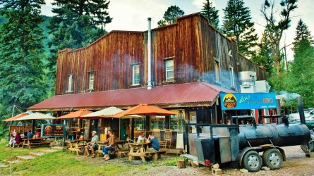 Slow Groovin' BBQ, Marble Colorado, Along the Aspen Marble Detour