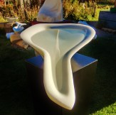 'No Strings Attached' Hand Carved Marble Bowl by Martin Cooney