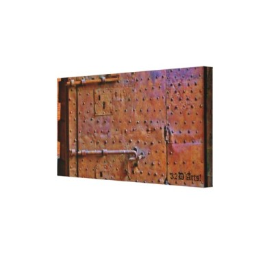 Curfew Gate, Detail, Lucca, 24 x 12.5, Wrapped Canvas Print, right