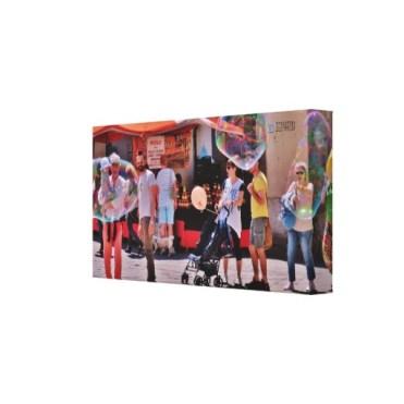 Fifizzano Festival Bubbles, 15 x 8, Wrapped Canvas Print, right