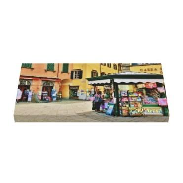 Pontremoli Newsstand Kiosk, 22 x 11, Wrapped Canvas Print, up