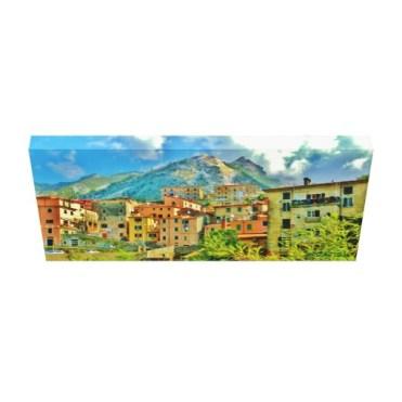 Torano, Carrara, Italy, 24 x 11.5, Wrapped Canvas Print, down
