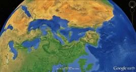 North West Tuscan Way Big Map 2 Google Earth